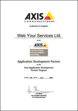 Axis Certification ADP picture